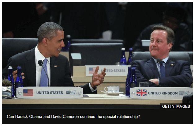 UK and US - Special Relationship