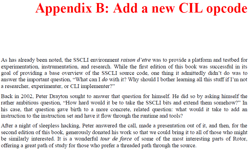 Appendix B - Add a new CIL opcode