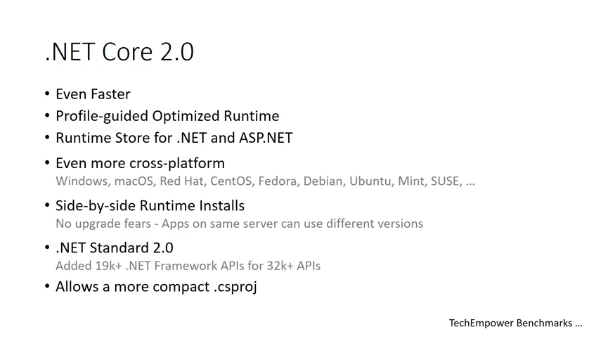 13 - What's new for performance in .NET Core 2.0